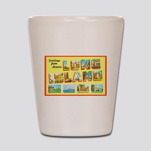 Long Island New York Shot Glass