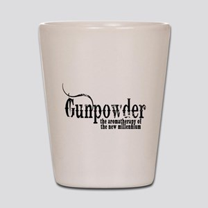 Gunpowder Gun Humor Shot Glass