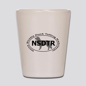 NOVA SCOTIA DUCK TOLLING RETRIEVER Shot Glass