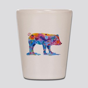 Pigs of Many Colors Shot Glass
