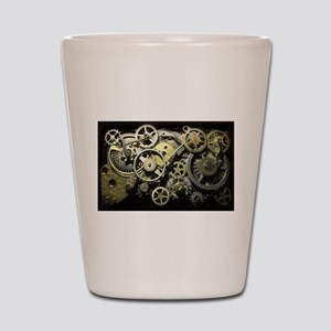 SteamPunk Gears Shot Glass