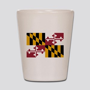 State Flag of Maryland Shot Glass