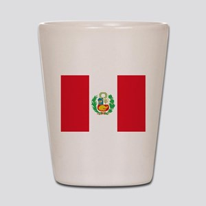 Flag of Peru Shot Glass