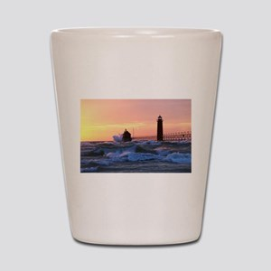 Grand Haven Splash Shot Glass