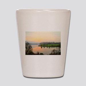 Dawn of a new day Shot Glass