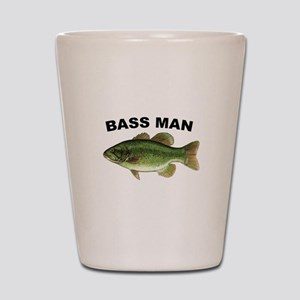 Bass Man ( Ass Man ) Fishing Shot Glass