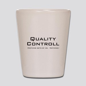Q Controll Shot Glass
