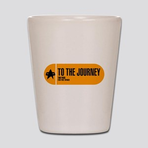 To the Journey Shot Glass