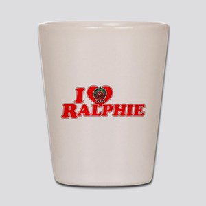I Heart Ralphie Shot Glass