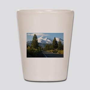 Road to Mount Shasta Shot Glass