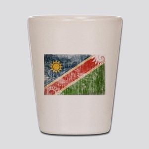 Namibia Flag Shot Glass