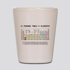 The Periodic Table of Elements Shot Glass
