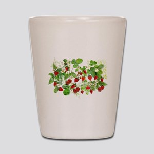 Ripe Strawberries from Provence Shot Glass