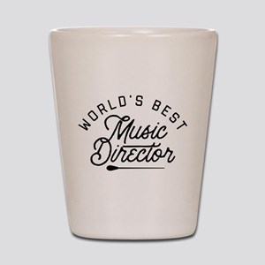 World's Best Music Director Shot Glass