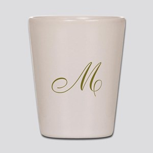 Elegant Monogram Shot Glass