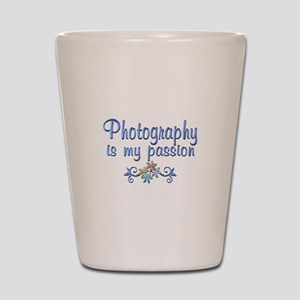Photography Passion Shot Glass