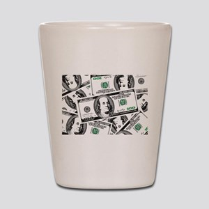 $100 dollars Shot Glass