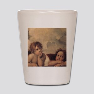 Raphael angels Shot Glass