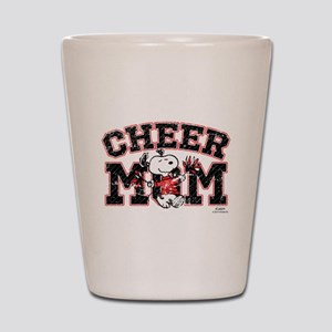Snoopy Cheer Mom Shot Glass