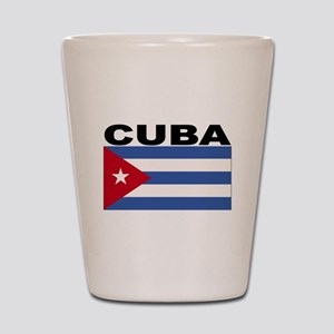 Cuba Flag Shot Glass