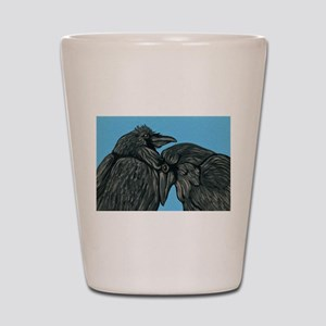 Raven Love Shot Glass