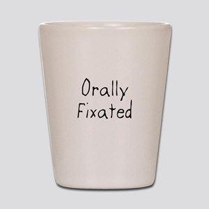 Orally Fixated Shot Glass