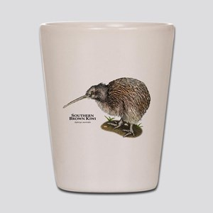 Southern Brown Kiwi Shot Glass
