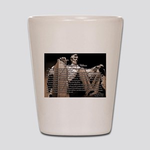 Gettysburg Address Shot Glass