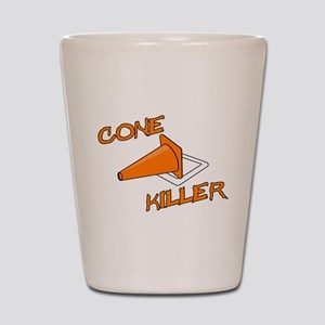 Cone Killer Shot Glass