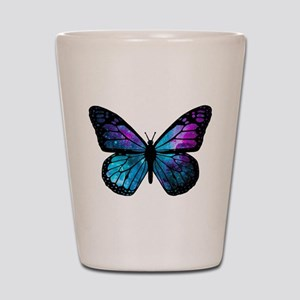 Galactic Butterfly Shot Glass