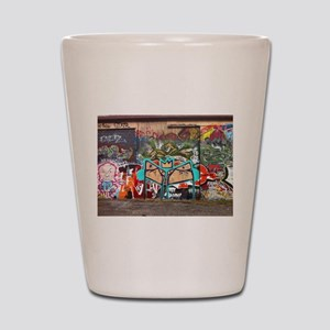 Street Graffiti Shot Glass