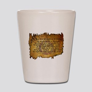 charmed invoking spell Shot Glass