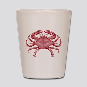 Vintage Crab Shot Glass