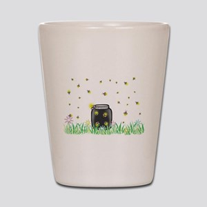 Summer night Shot Glass