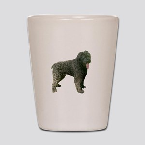 bouvier des flandres full Shot Glass