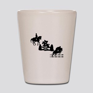 3 Day Eventing Shot Glass