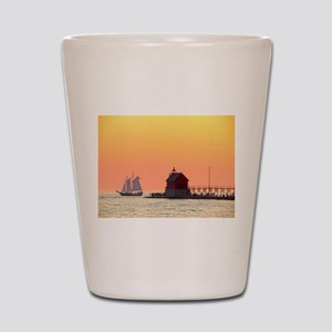 Grand Haven Sunset Shot Glass