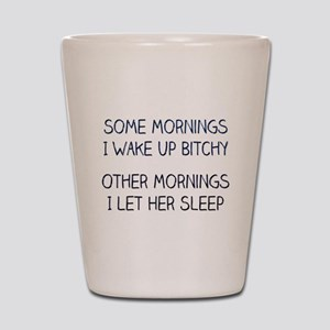 Funny Saying About Wife Shot Glass
