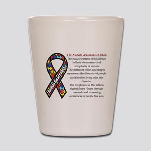 Ribbon meaning Shot Glass
