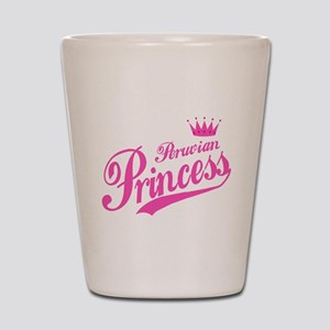 Peruvian Princess Shot Glass