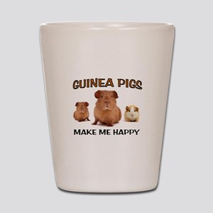 HAPPY PIGS Shot Glass