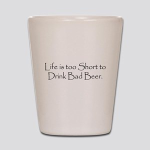 TooShortCPBlack Shot Glass