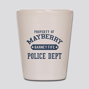 Mayberry Police Barney Fife Shot Glass
