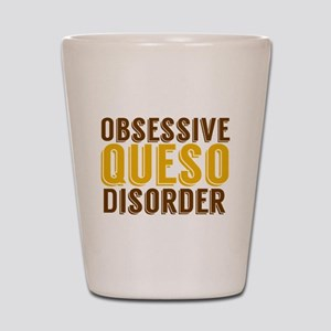 Funny Queso Shot Glass