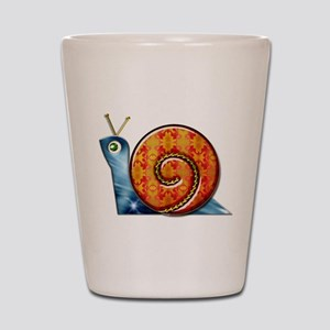 Sly Decorated Snail Shot Glass