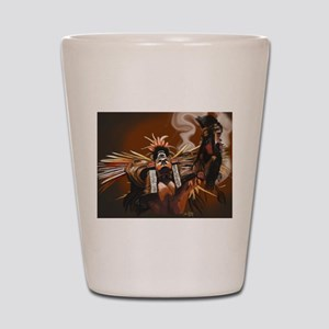 Aztec Dancer - Man Shot Glass
