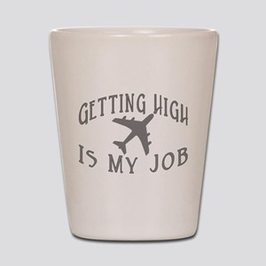 Airline Pilot Shot Glass