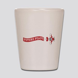 Aviation Future Pilot Shot Glass