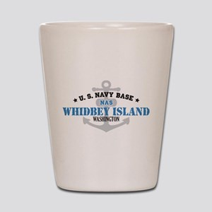 US Navy Whidbey Island Base Shot Glass