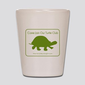 Turtle Club Shot Glass
